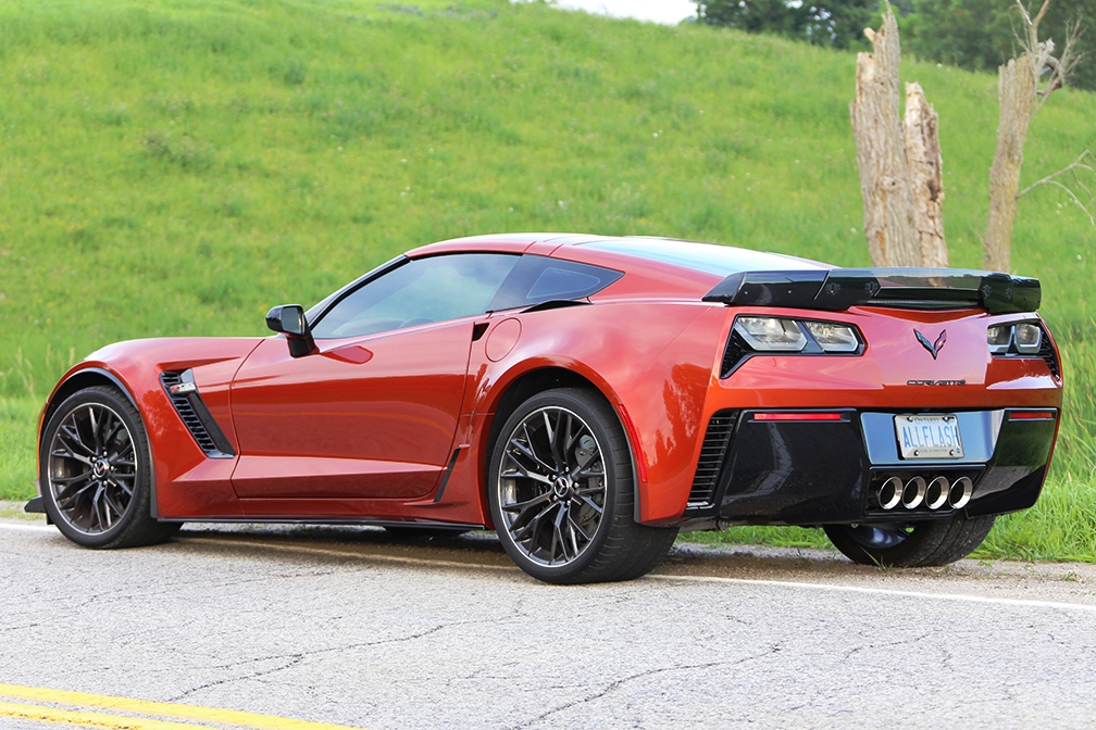allflash corvette c7 z06 driver side rear view showing. Black Bedroom Furniture Sets. Home Design Ideas